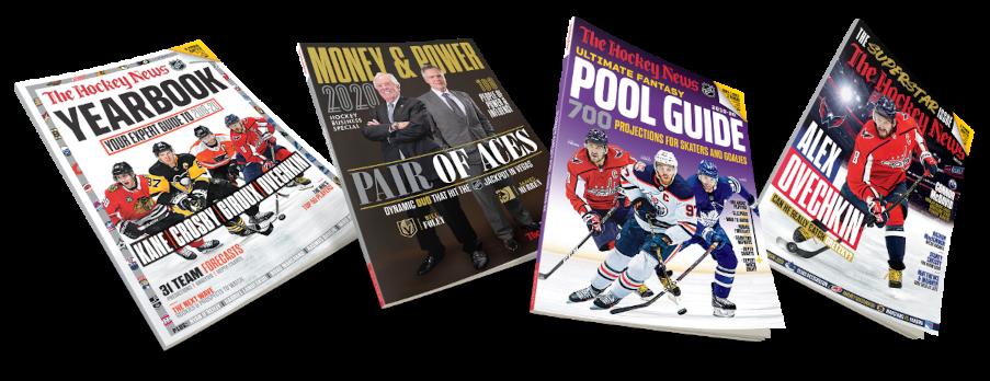 The Hockey News Magazine special offer